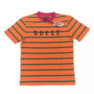 Guess J Balvin Striped T Shirt Colorful